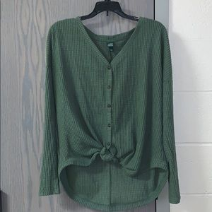 Wild Fable: Army green sweater, size medium